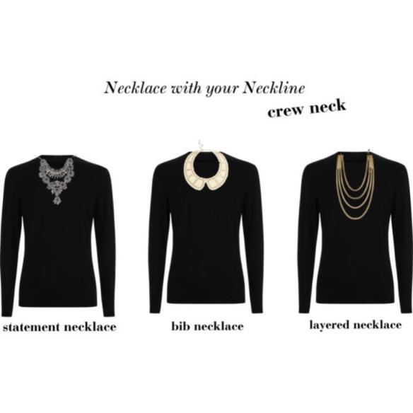 crew neck neckline