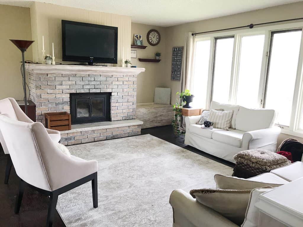 Living Room Update | Split Level Home - My Chic Obsession