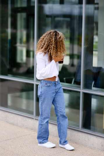 baggy jeans outfit