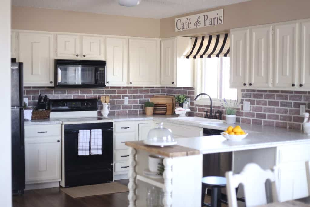 french country kitchen makeover