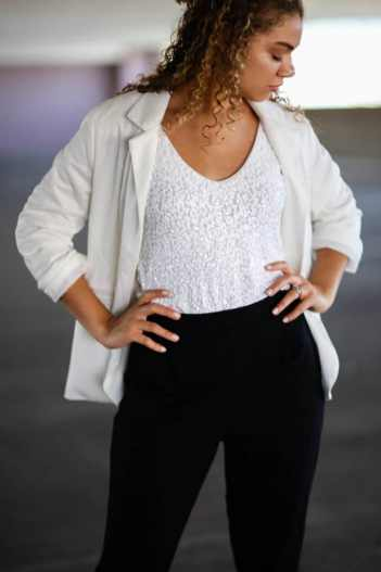 chic sparkle outfit