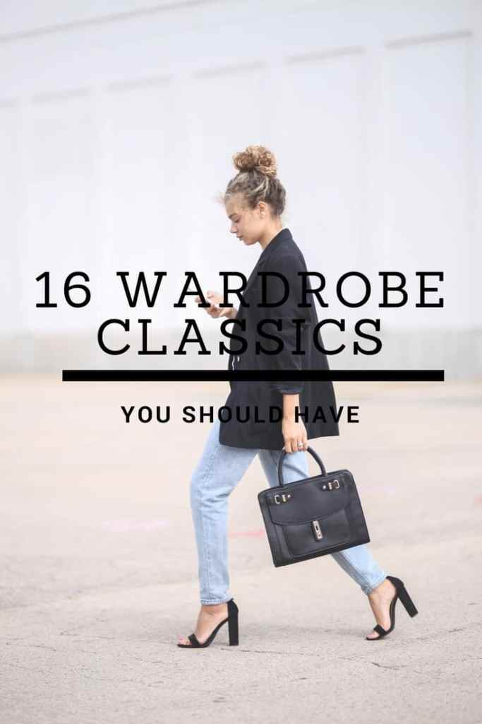 wardrobe classics you should have
