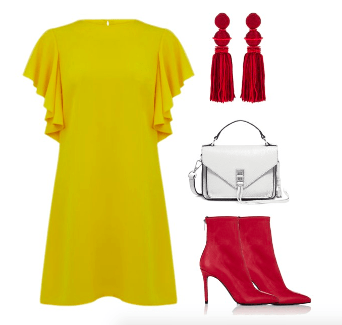 red and yellow color combo