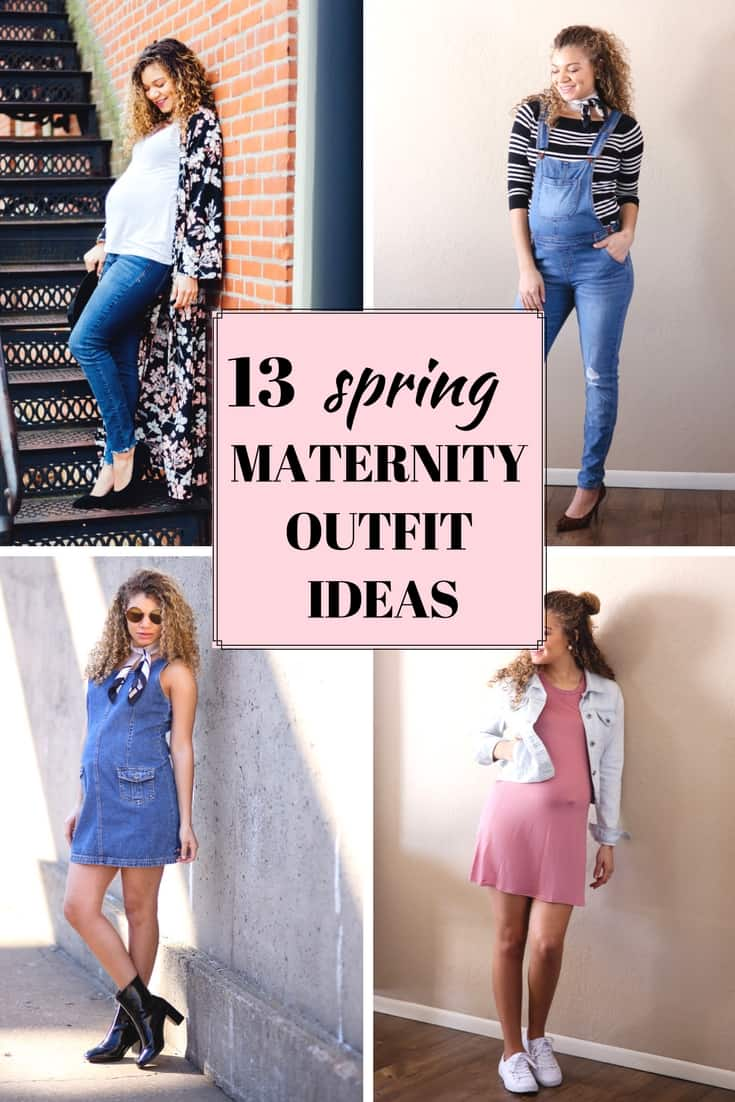 spring maternity outfits