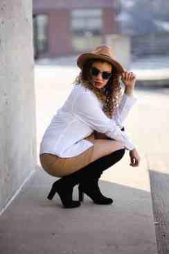 pose like a fashion blogger