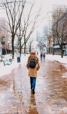 Ped mall in Iowa City. Here are some of the top things to do in Iowa City for a fun trip or weekend getaway!