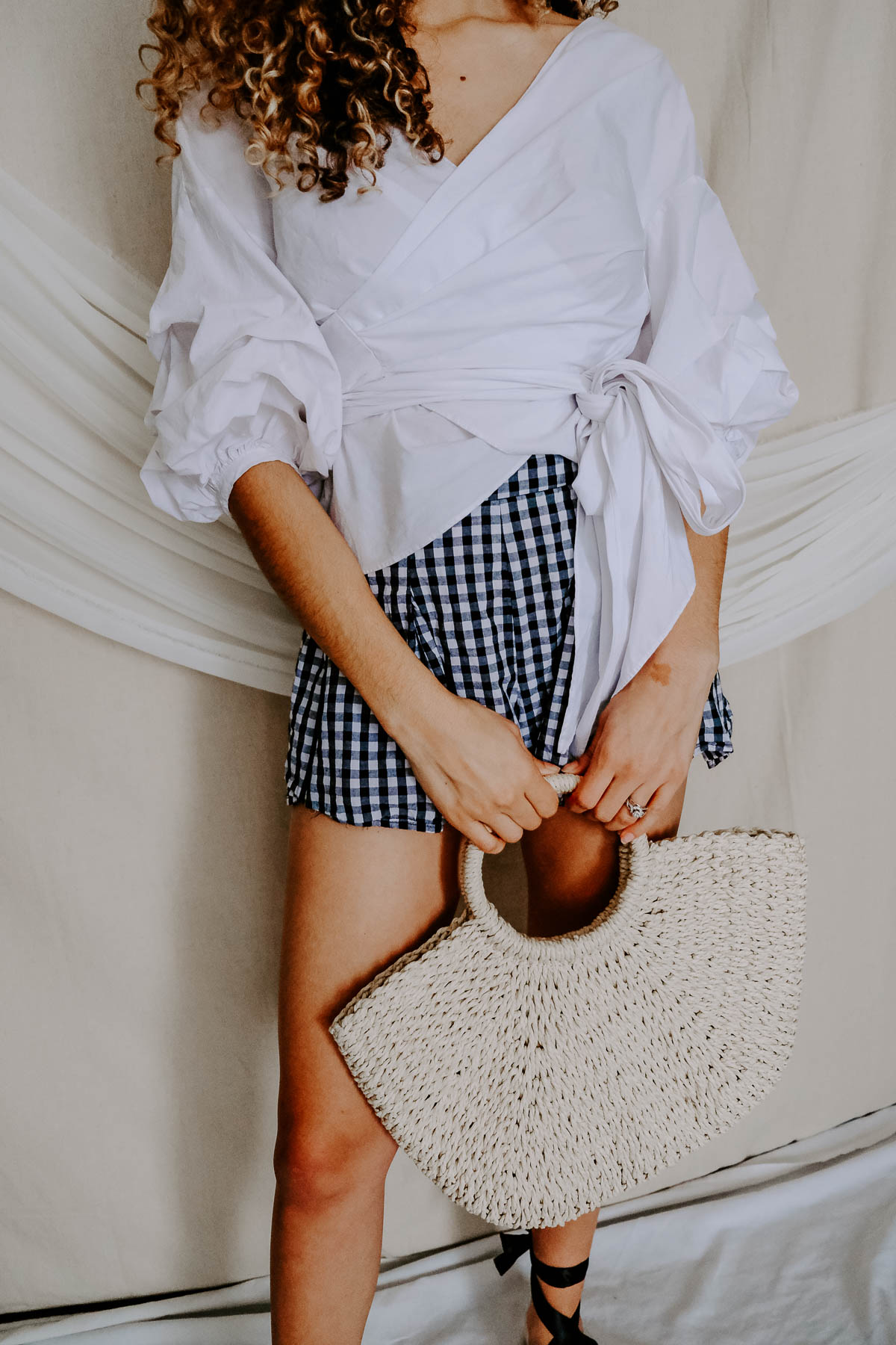 Wondering what spring staples you need for your spring outfits? Check out this post on what you need this season and this gingham outfit is one of them!