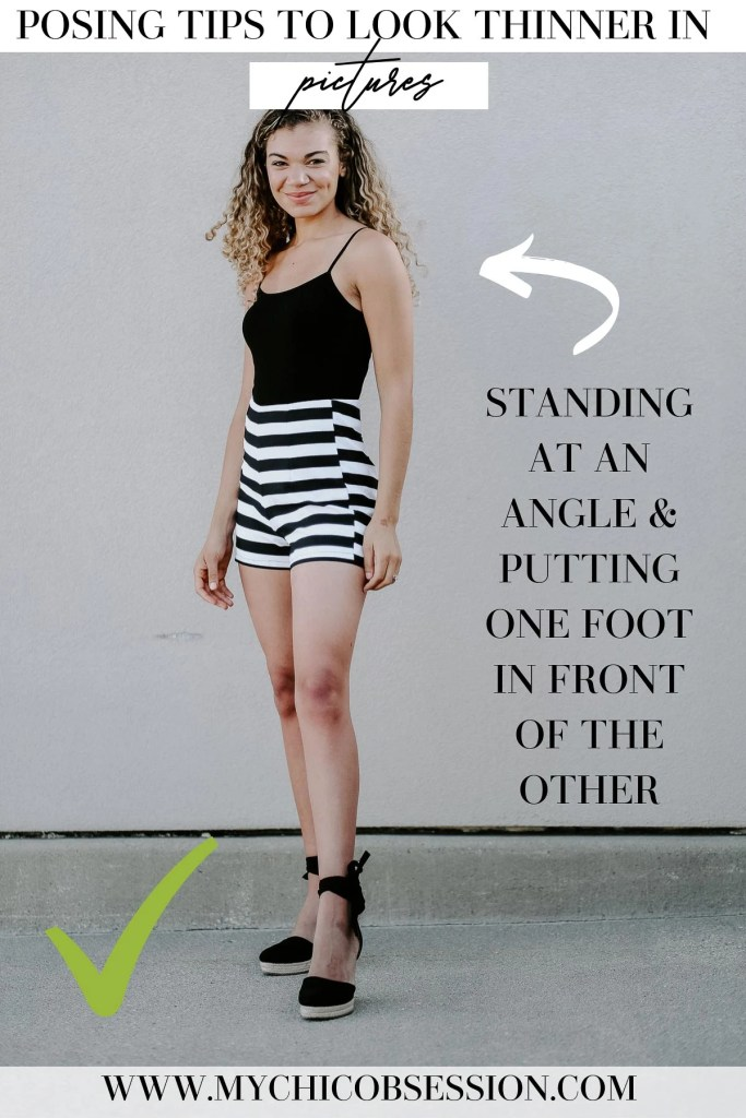 posing tips to look skinny in pictures