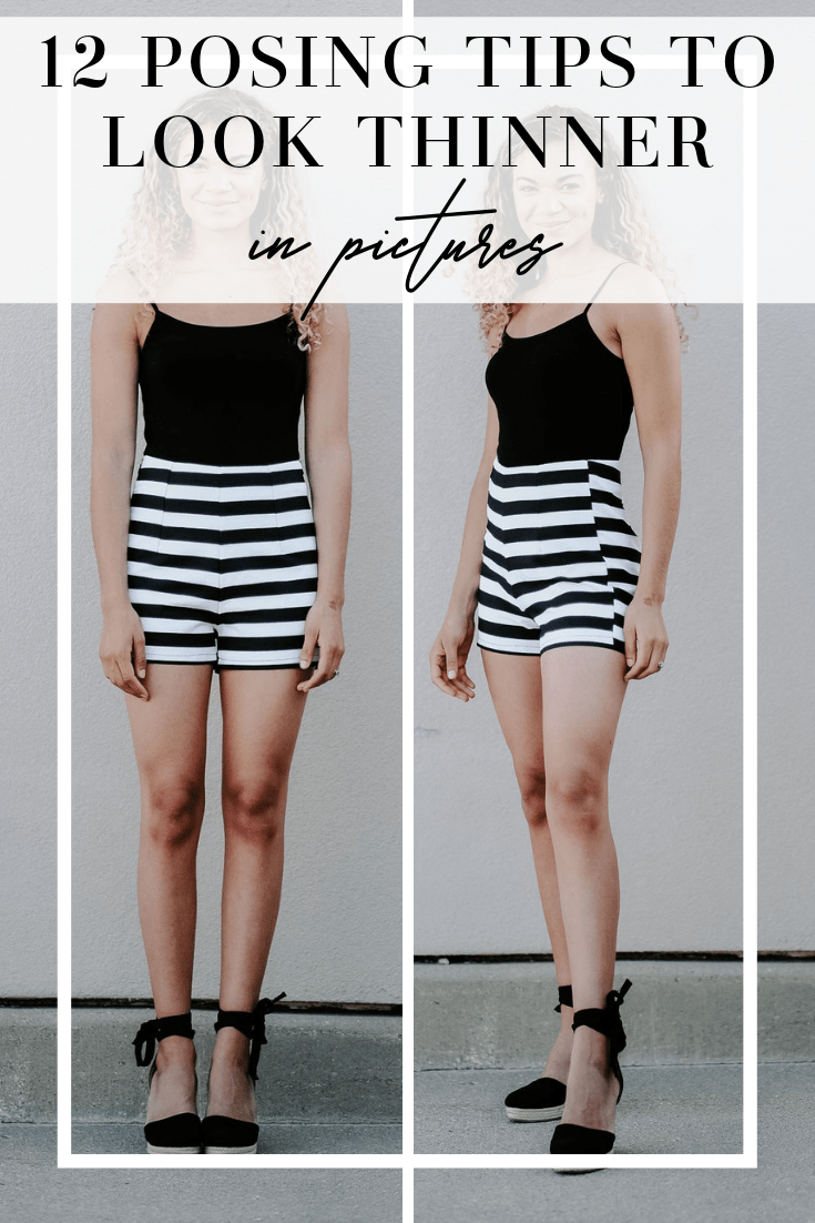 posing tips to look thinner in pictures
