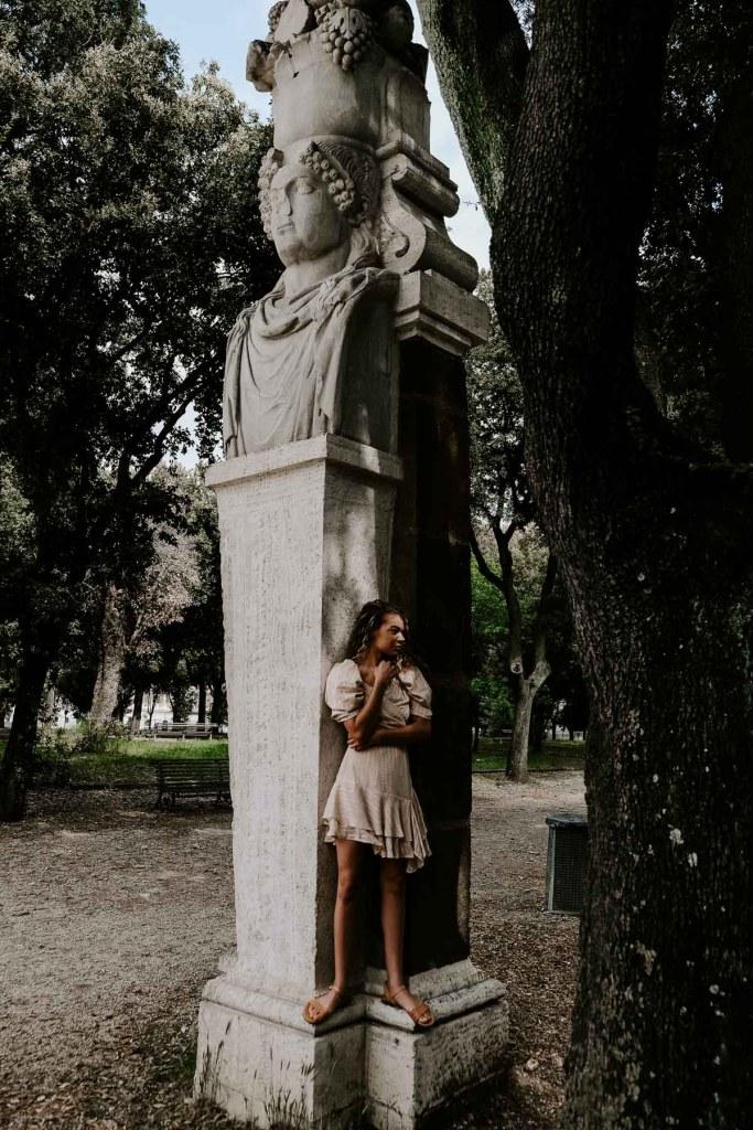 Villa Borghese in Rome, Italy