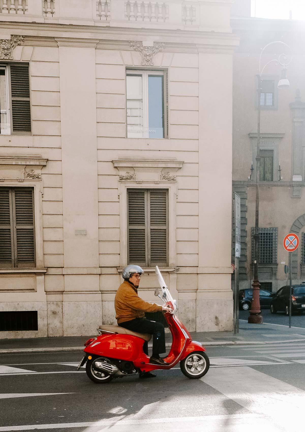 vespa in Rome, Italy