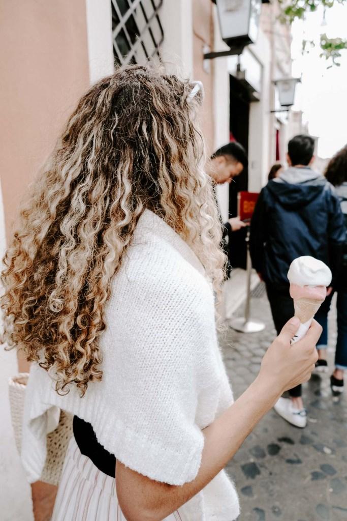 gelato in Rome, Italy