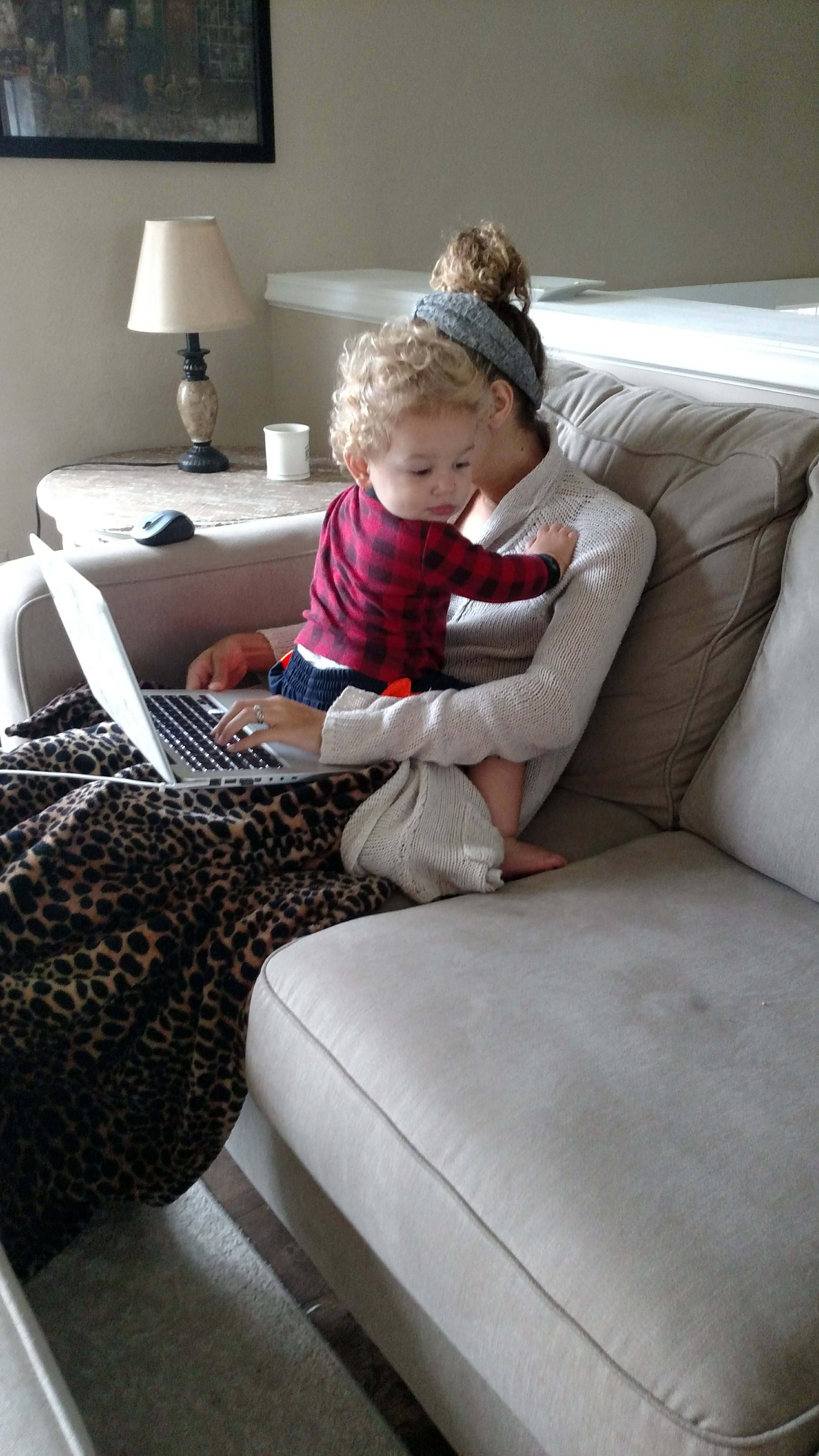 work from home mom myths