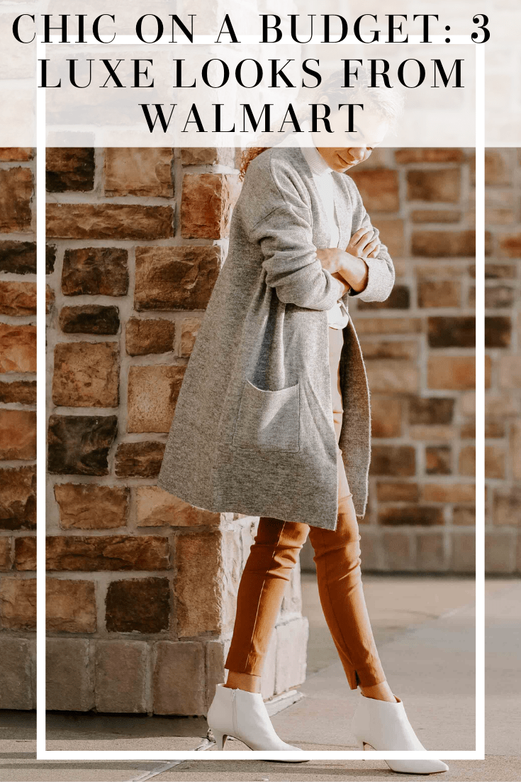 chic on a budget: luxe looks from Walmart