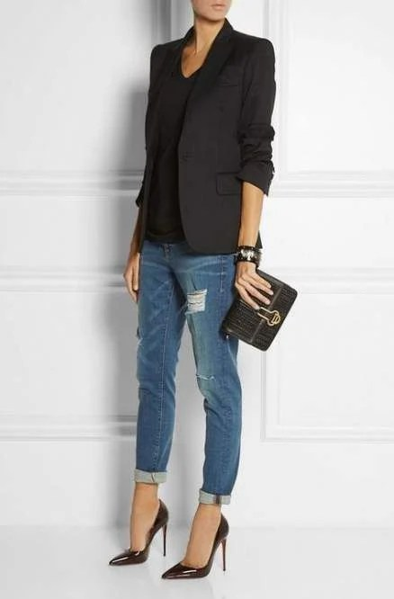 dress up your jeans outfit
