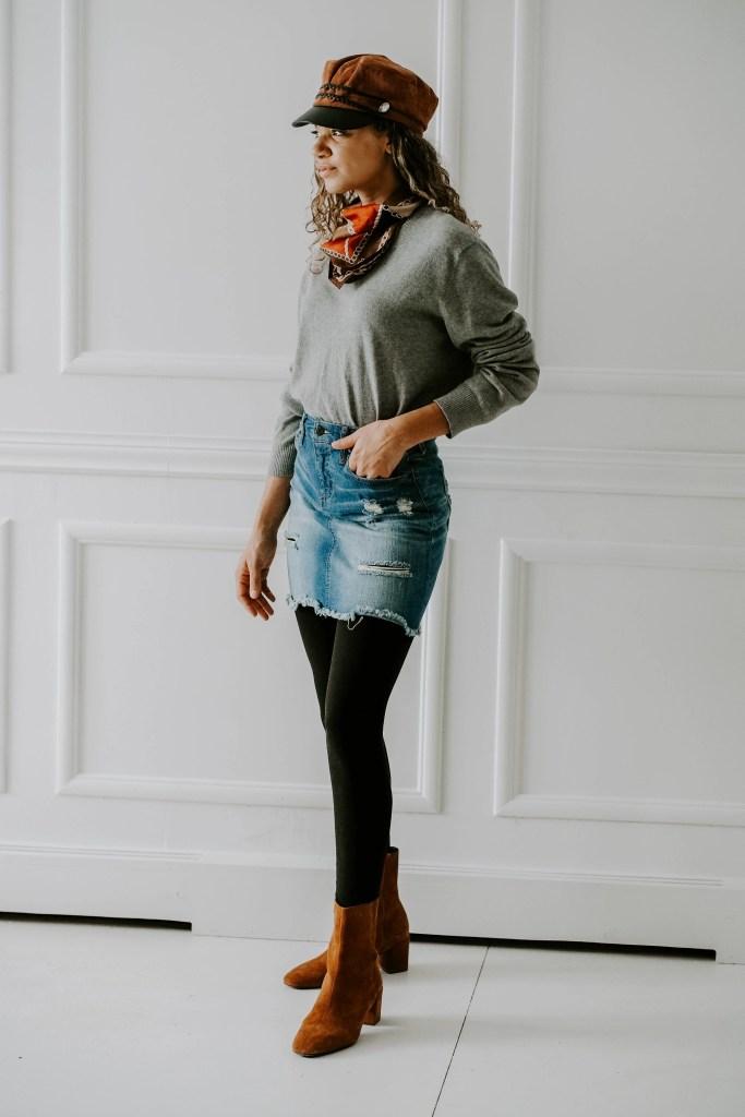 sweater fall outfit idea