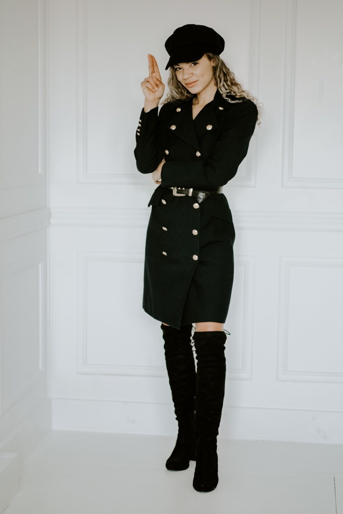 military dress outfit thrift store haul