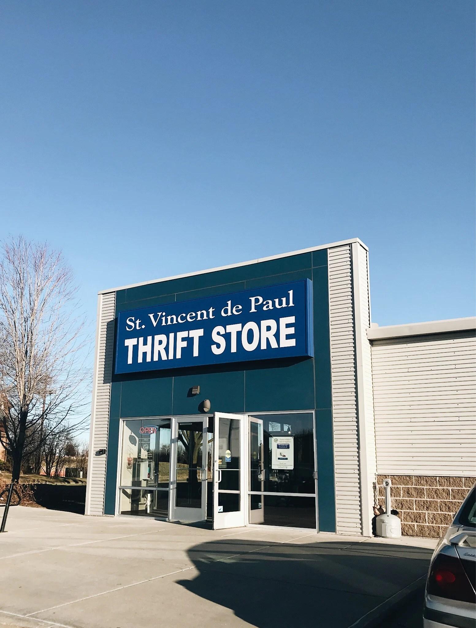 st vincent de paul madison wi thrift store