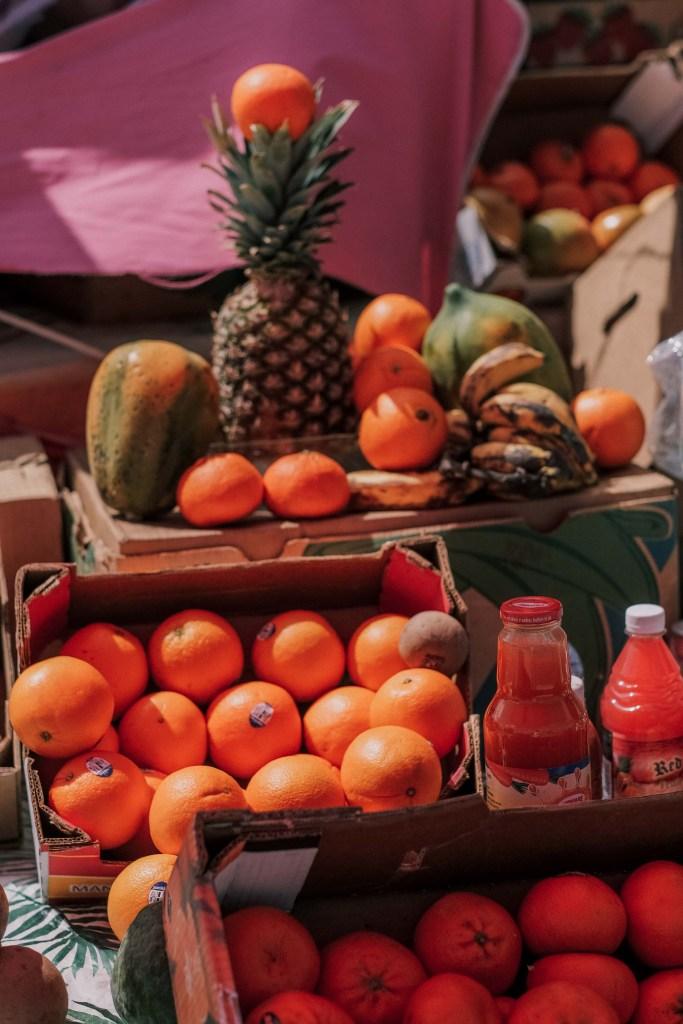 nassau bahamas fruit stand
