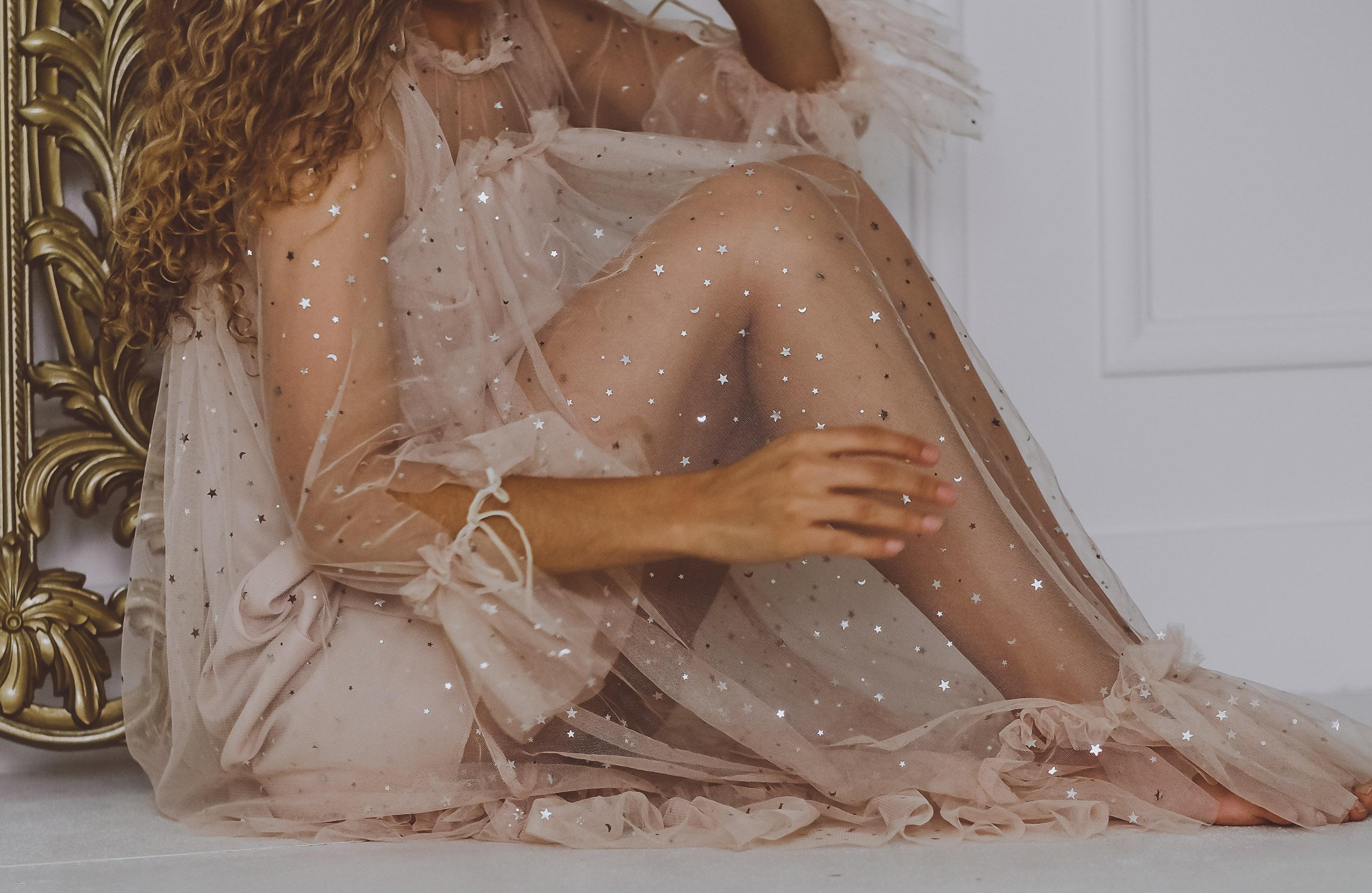 sparkly star dress