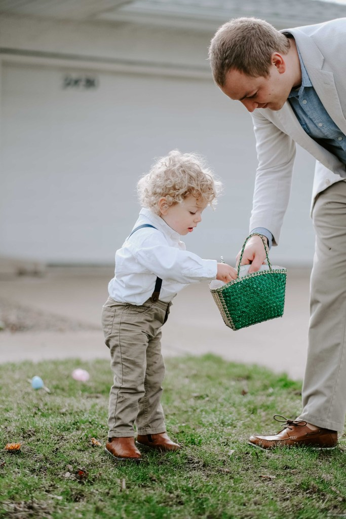 easter family photography
