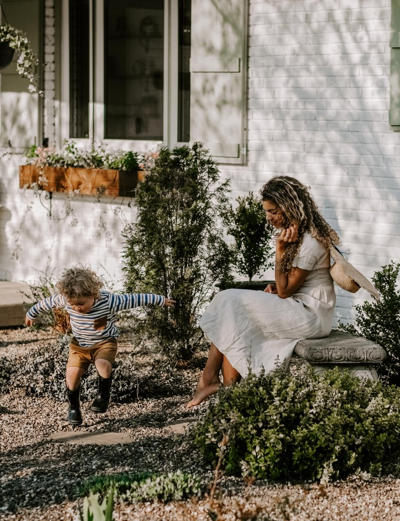 mother and son outdoor lifestyle photos