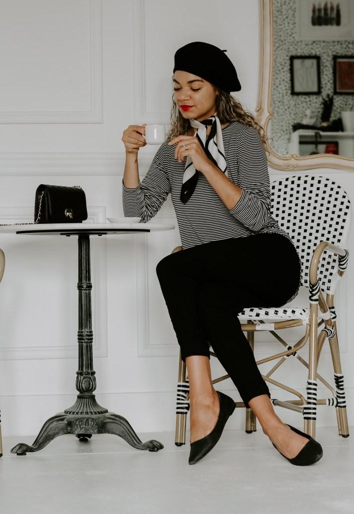 Parisian outfit