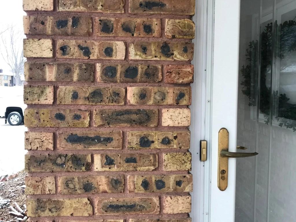 brick ranch exterior makeover