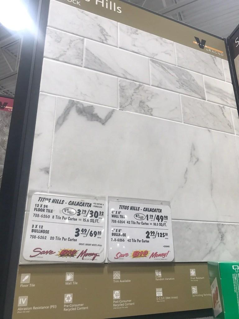 floor tile option
