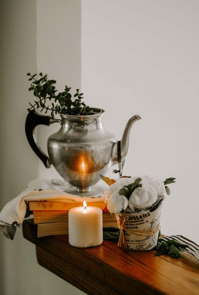 indoor tea party decorations