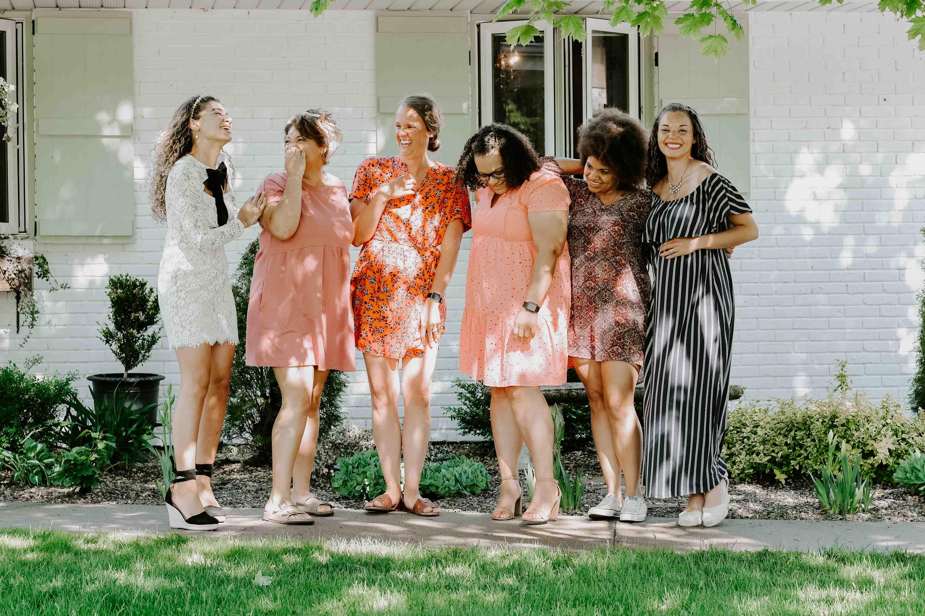 girls garden party