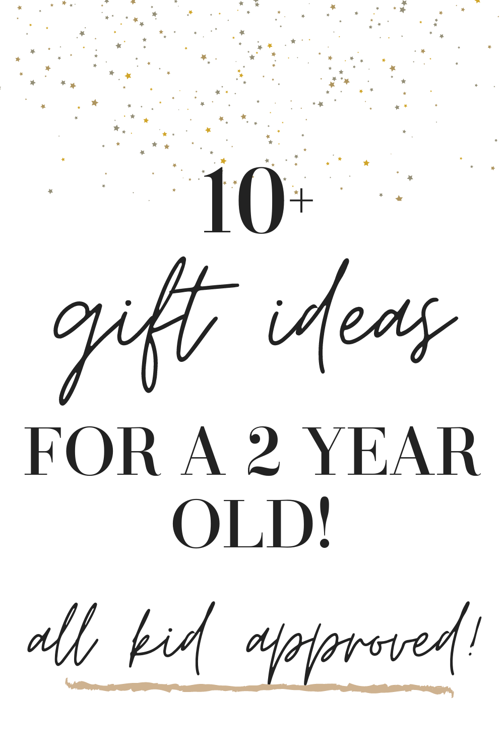 2 year old gift ideas