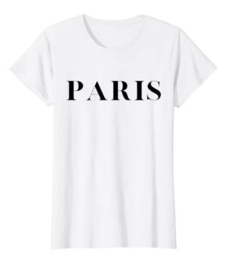 Paris graphic tee