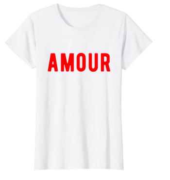amour graphic tee