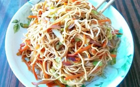 Vegetarian Chow Mein Recipe