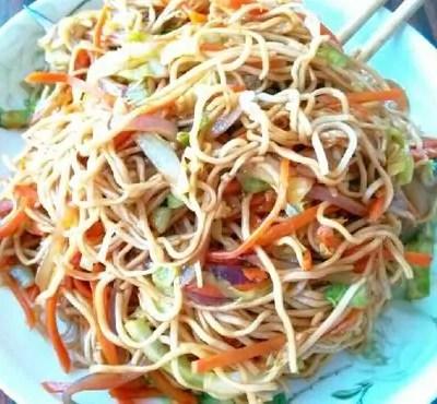 Vegetarian Chow Mein1