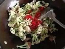 Stir fry Cauliflower Recipe6