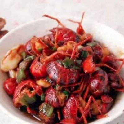 Braised Crayfish with Broad Bean Paste Recipe