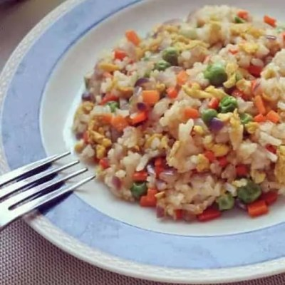 Chinese Fried Rice With Eggs Recipe