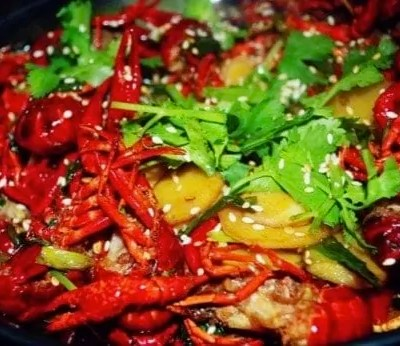 Chinese Griddle Cooked Crayfish Recipe