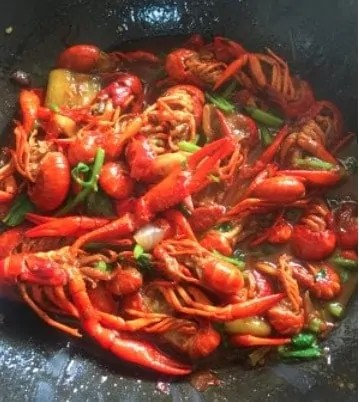 Authentic Spicy Crayfish Tail Home Recipe Step17