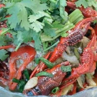 Cantonese Flavor Stir fry Crayfish Recipe