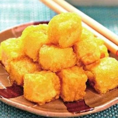 Chinese Fried Crispy Tofu Recipe