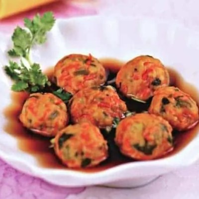 Chinese Steamed Carrot Balls Recipes