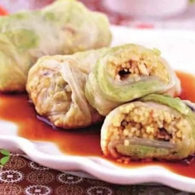 Steamed Chinese Cabbage Roll Recipe