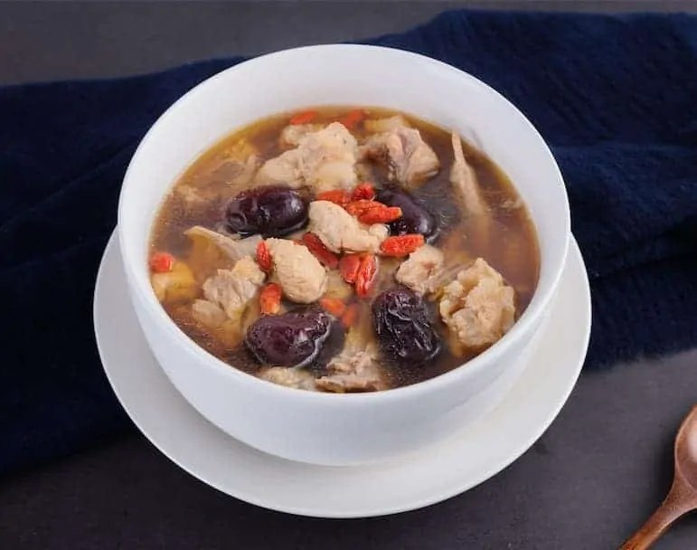 Chinese Black Chicken Soup with GojiSoup Recipe