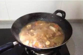 Braised Abalone And Pork Belly in Brown Sauce step8