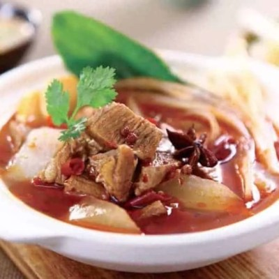Broad Bean Paste Flavour Beef Hot Pot Recipe