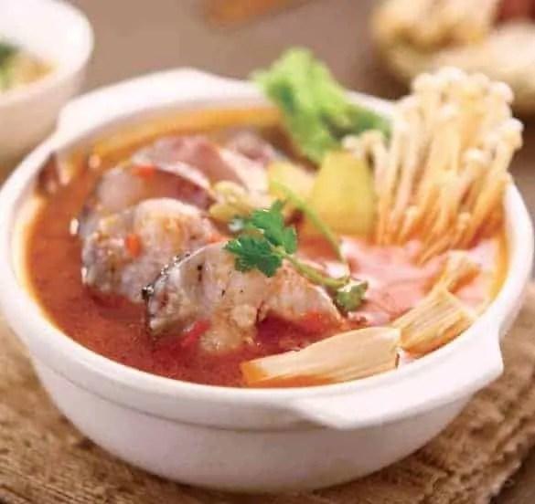 Sour Soup Fish Hot Pot Base Recipe