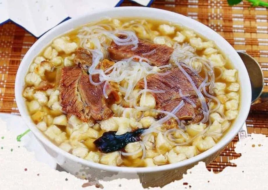 Pita Bread With Mutton Soup Recipe